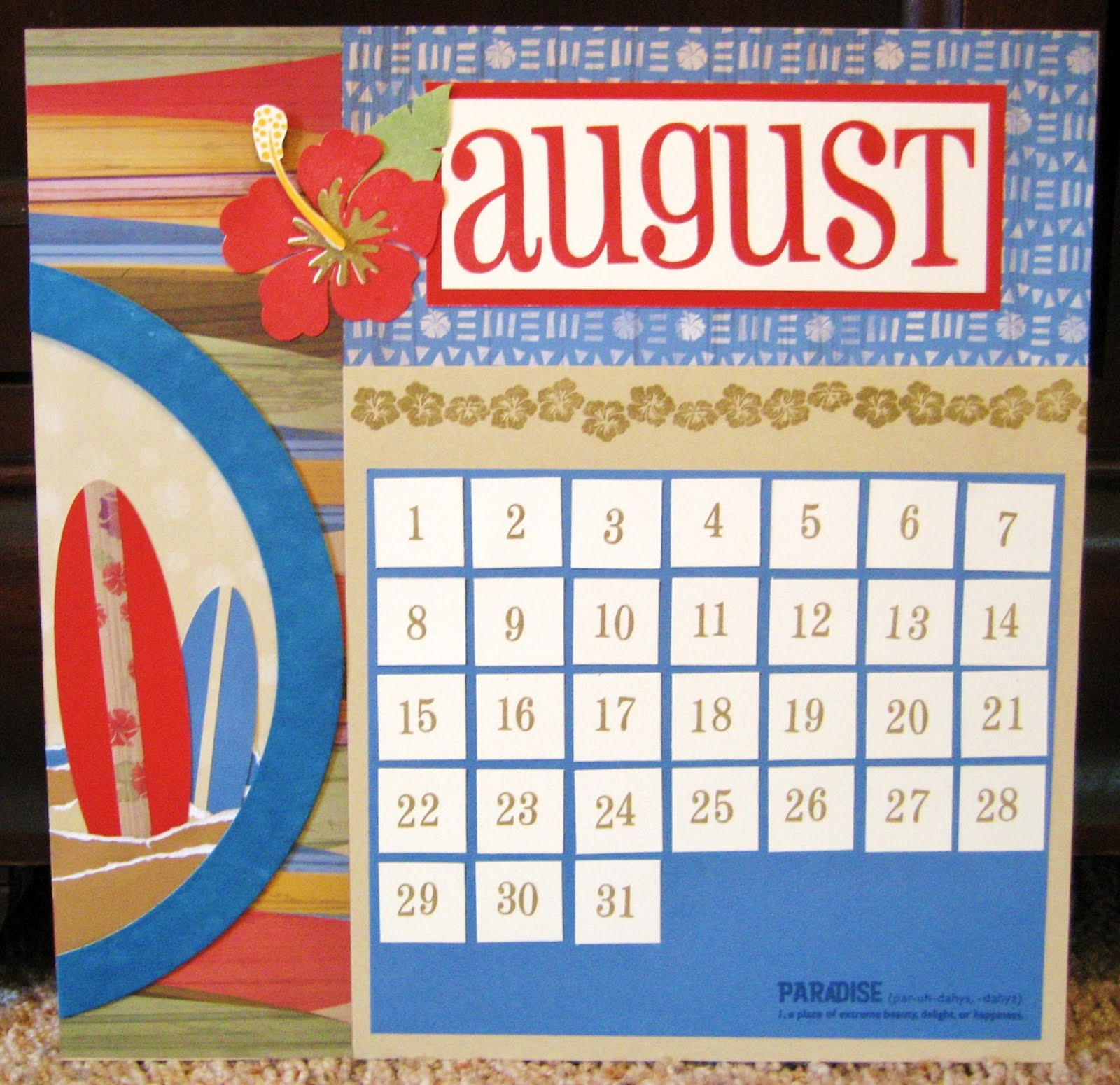 Calendar Ideas Y : Playing with paper scrapbooks cards diy using ctmh