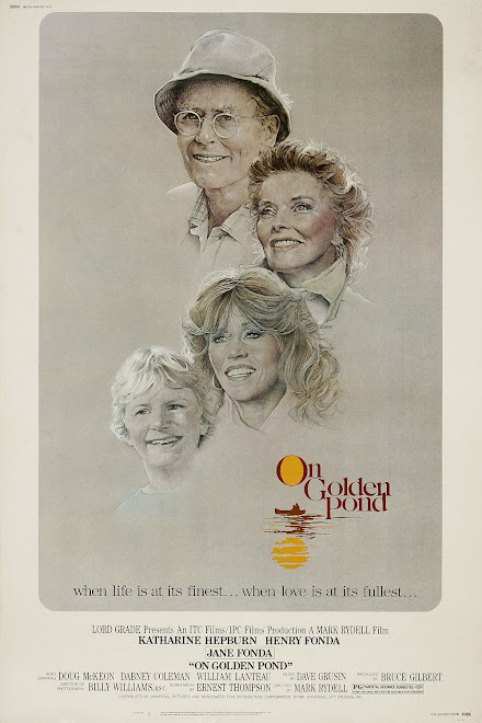 ON GOLDEN POND,  POSTER