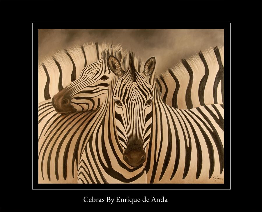 Animal paintings - Cuadros de cebras ...