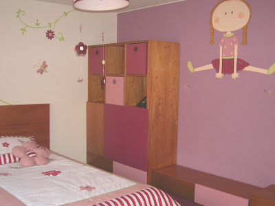 Dise o de interiores dormitorios infantiles ni as for Diseno de muebles para dormitorio de nina