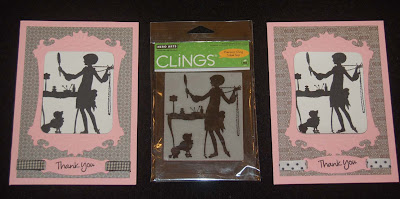 Lynn 39 s craft blog hero arts clings silhouette rubber stamps for Rubber stamps arts and crafts