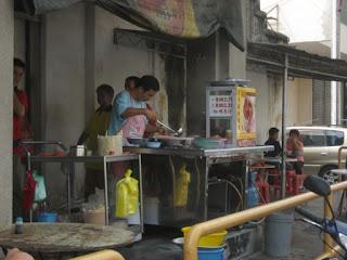 Curry Mee Stall @ Lorong Seratus Tahun, Penang