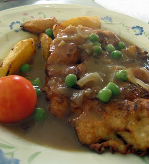 Hainanese Chicken Chop @ Yut Sun, Taiping