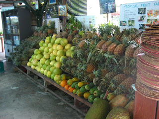 Fresh Fruits @ Penang Fruit Farm