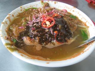 Best Laksa @ Kek Lok Si, Penang