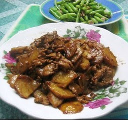 Chinese Potato and Pork