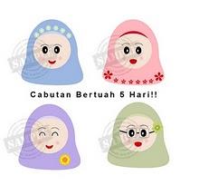 CABUTAN BERTUAH 5 HARI