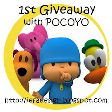 EIFADESIGN 1ST GIVEAWAY WITH POCOYO