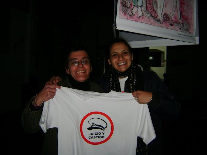 """Nancy JAIME y Lorena """"Laly"""" AGUERO plásticas visuales que participaron ...entre muchos otros !!!"""