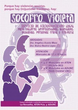 Servicio de asesoramiento legal gratuito para víctimas de violencia de género