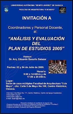 Facultad de arquitectura 5 de mayo de la uabjo an lisis for Arquitectura 5 de mayo plan de estudios