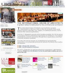 UNION INTERNACIONAL DE ARQUITECTOS UIA