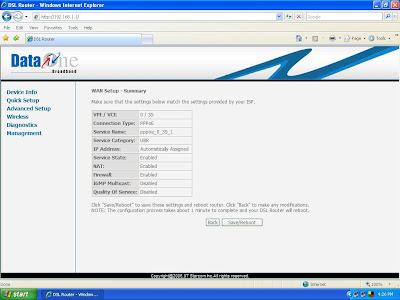 adsl modem bsnl. Configer Bsnl Broadband Modem