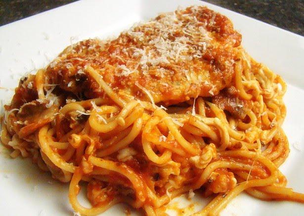 Krista's Kitchen: Easy Chicken Parmesan