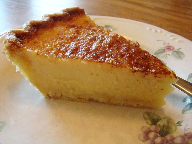 Krista's Kitchen: Buttermilk Pie