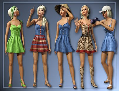 how to add clothing into the sims 3