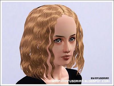 sims 3 curly hair male