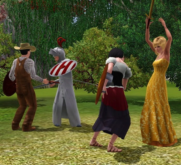 The sims medieval mod for sims 3