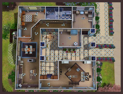 Sims 3 House Layouts