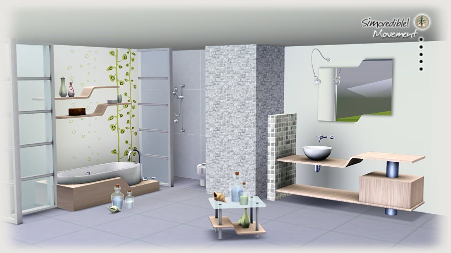 my sims 3 blog movement bathroom set by simcredible designs
