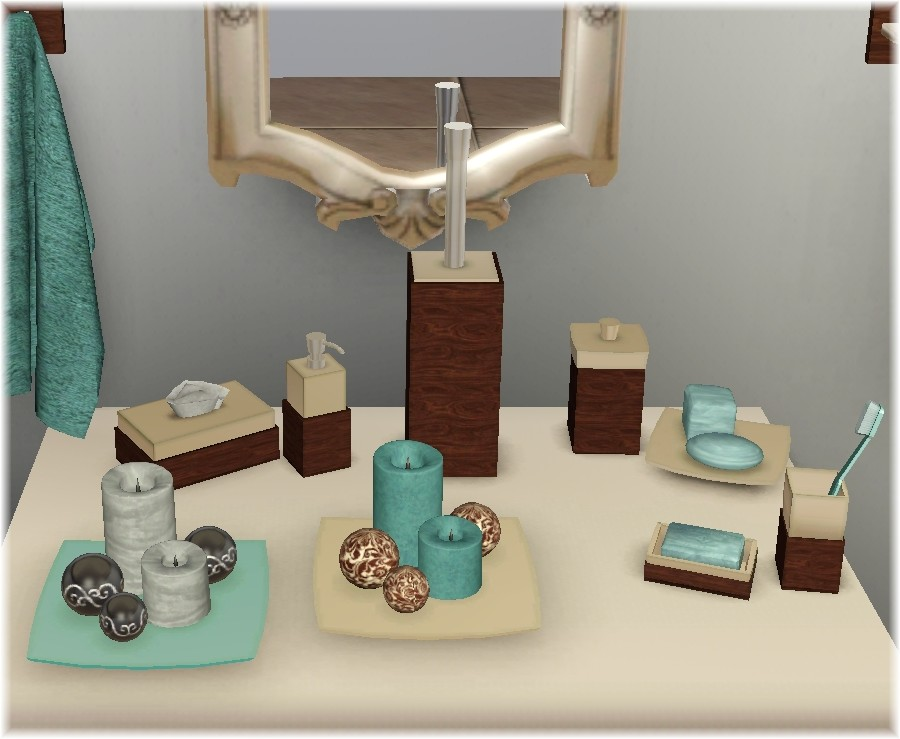 My sims 3 blog updated bathroom clutter by suza for Bathroom ideas sims 3