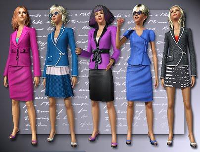 Карьерная одежда в симс 4