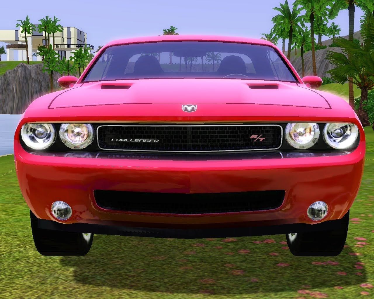 my sims 3 blog 2010 dodge challenger by fresh prince. Black Bedroom Furniture Sets. Home Design Ideas