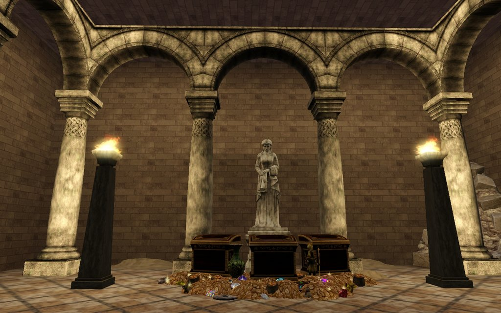 My Sims 3 Blog Romanesque Connecting Column Arches Set By