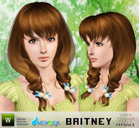 Newsea Kitty Female Hairstyle. Download at The Sims Resource - Subscriber Newsea Britney Female Hairstyle. Download at The Sims Resource - Subscriber