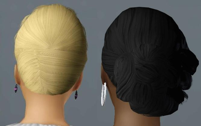 sims 2 hairstyles download. Three Hair Recolors for Females by Sims 2