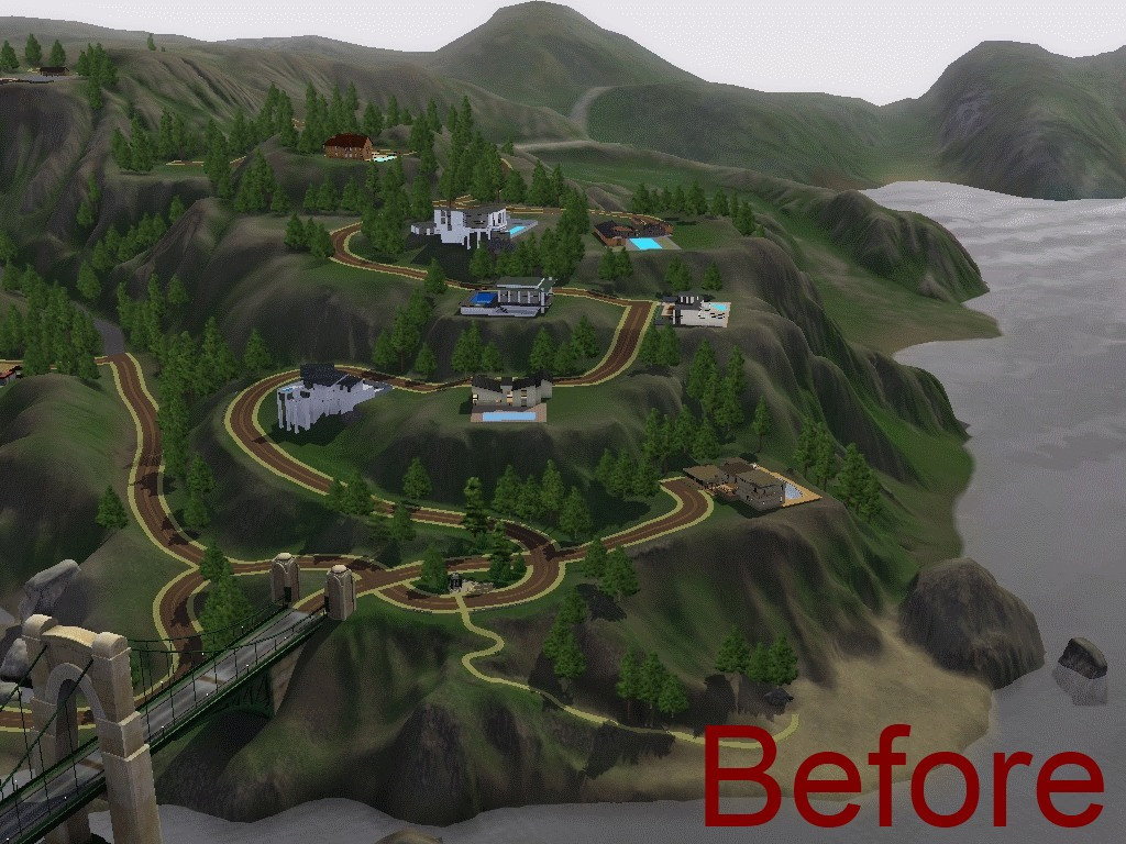 My Sims 3 Blog Bridgeport Lite By Winterhart