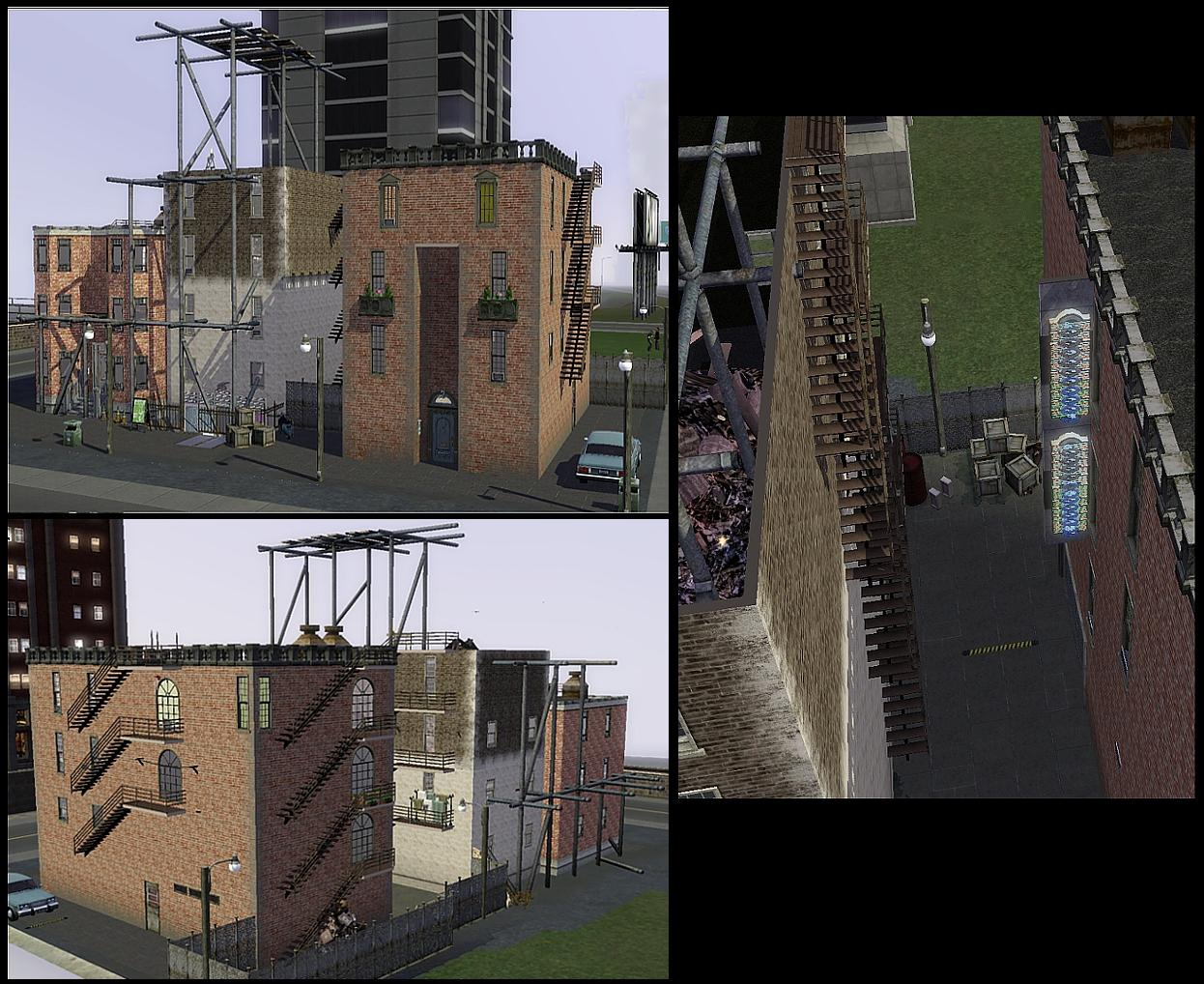 My sims 3 blog piece of manhattan late night apartment for Appartement design sims 3