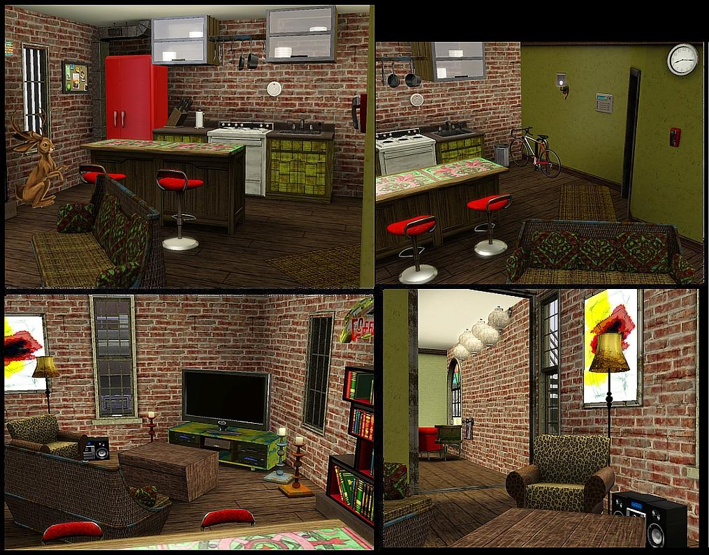 My Sims 3 Blog Piece Of Manhattan Late Night Apartment