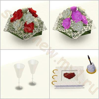 Mini Wedding Set by SimsNew A160bac0