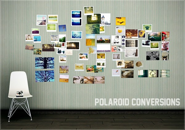 My sims 3 blog polaroid conversions by ritsukacom Sims 3 home decor photography