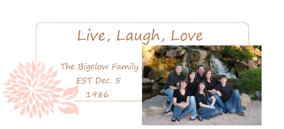 Kevin and Pamela Bigelow Family