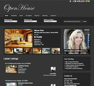 Open House Real Estate – Wordpress Themes