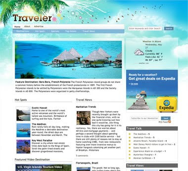 Traveler Magazine Updated with New Slideshow and 5 New Styles