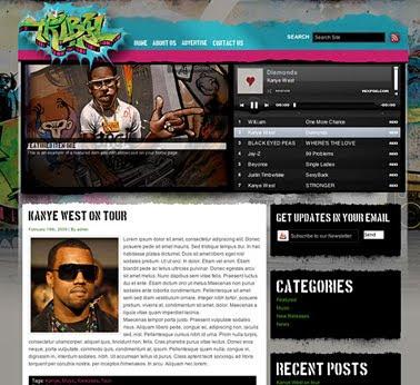 Tribal - Gorilla Theme for WordPress