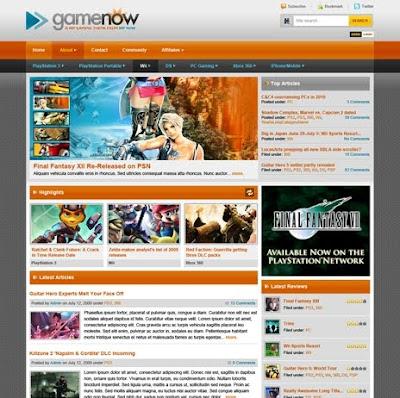 GameNow Premium WordPress Theme