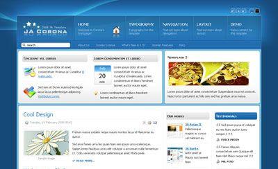 JA Corona v1.4 Joomla Template