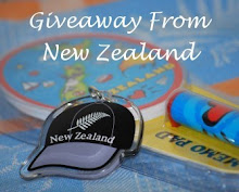 Giveaway From New Zealand