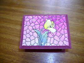 Cajita Falso Mosaico