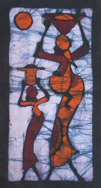 1000+ images about batik painting on Pinterest