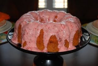 strawberry pound cake from cake mix