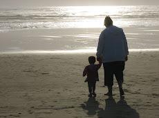 Savannah and Mom on the Oregan Coast.....