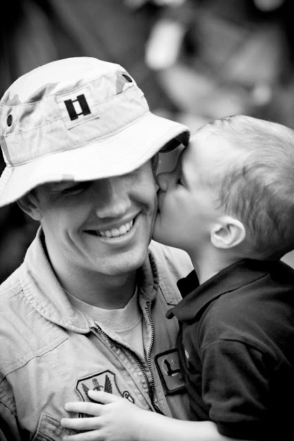 Picture of Boy with Dad