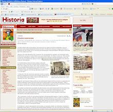 Site da REVISTA DE HISTÓRIA DA BIBLIOTECA NACIONAL: CIDADES SUBMERSAS