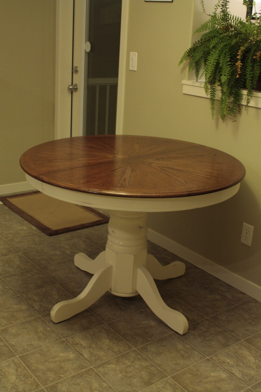 Refinished Kitchen Tables Refinished Kitchen Table Archives Feathering My Nest