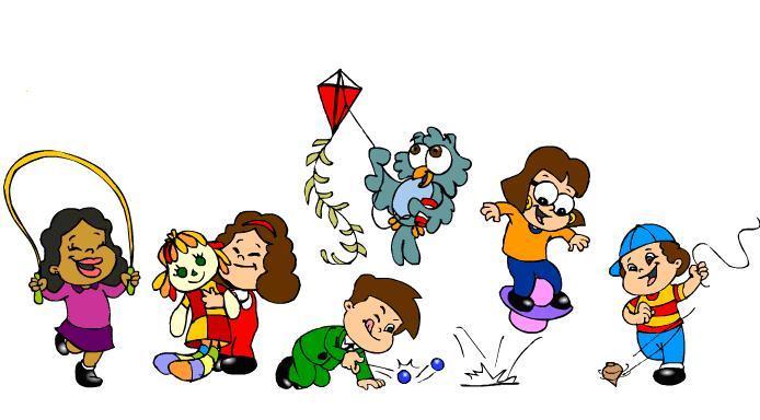Resultado de imagem para ilustração brincadeiras infantis